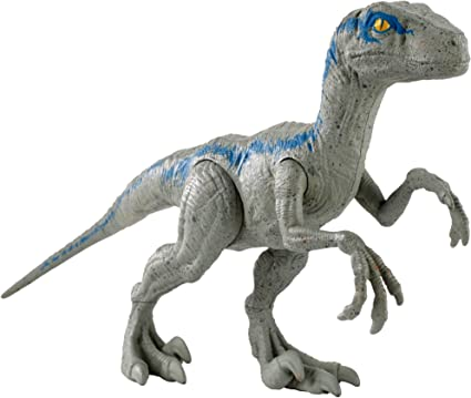 Jurassic Blue Dinosaur Velociraptor Toy Educational Model Gift N2Y4