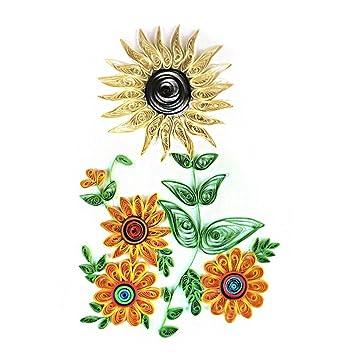 Paper Maker Diy Tissue Paper Handmade Decoration Colouring Sunflower