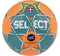 SELECT Mundo - Balón de Balonmano, Color türkis/Orange, tamaño 1 ...