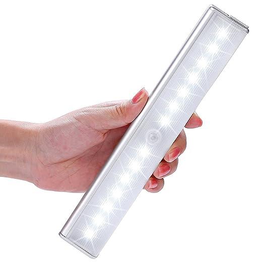 257 opinioni per LOFTER Luce Notte a 14 LED con Sensore Luce e Movimento, Lampada Armadio con