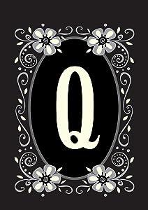 Toland Home Garden 119938 Classic Monogram-Q 12.5 x 18 Inch Decorative, Garden Flag