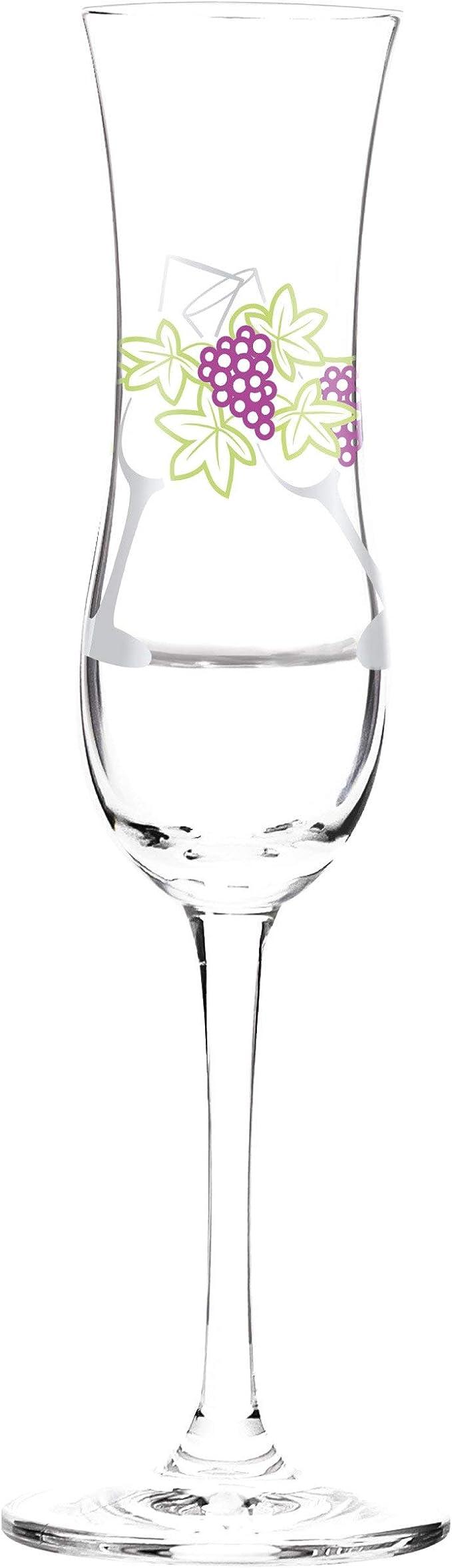 Mehrfarbig Glas RITZENHOFF Grappaglas