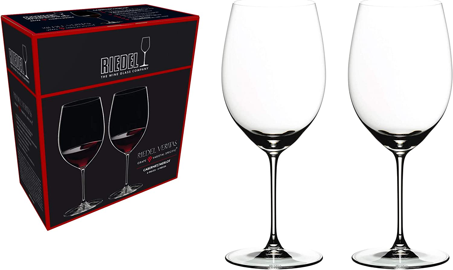 Riedel® Veritas CabernetMerlot Wine Glasses (Set of 2