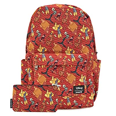 Loungefly Disney Emperors New Groove Nylon Backpack and Pouch Set | Kids' Backpacks