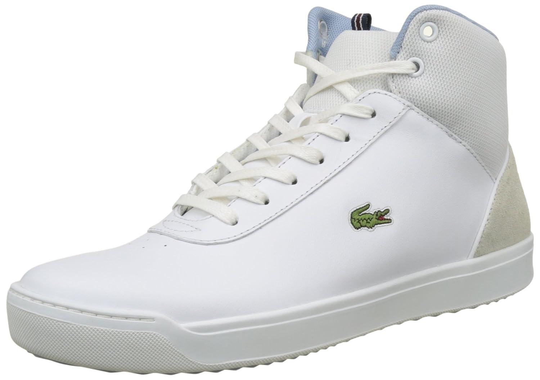 Lacoste Explorateur Ankle 317 2, Entrenadores Altas para Mujer 39 EU|Blanco (Wht)