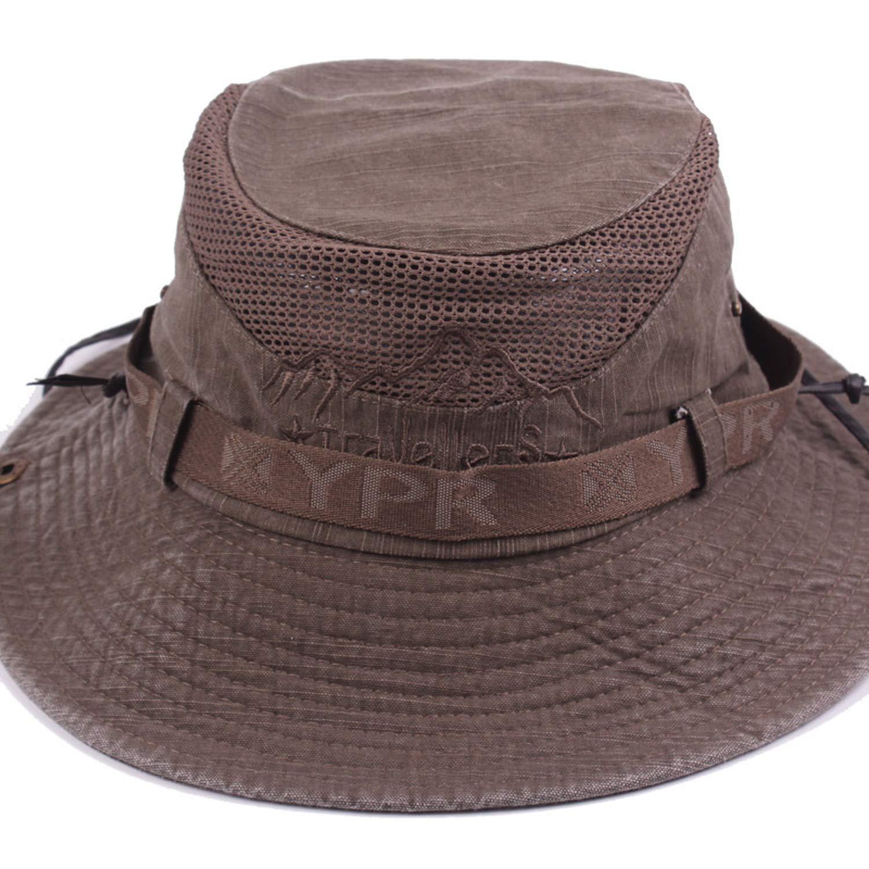 Men Bob Summer Bucket Hats Outdoor Fishing Wide Brim Beret Cap for Women Hiking Sombrero Sun Hat