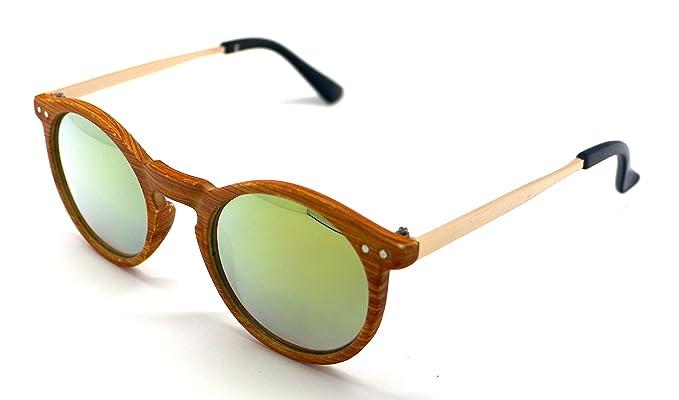 261ec33ed5 Gafas de Sol Sun Vision Madera Mujer Alta Calidad UV 400 S6007MWR  Sunglasses: Amazon.es: Ropa y accesorios