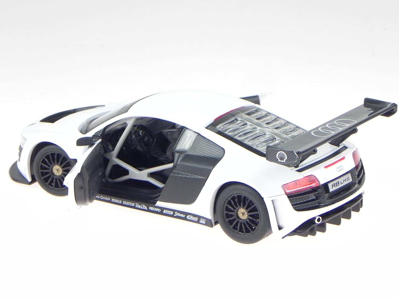 Audi R8 LMS Fertigmodell Modellauto Rastar 1:24 silber
