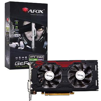 Amazon.com: AFOX – Tarjeta gráfica GeForce GTX 1060, NVIDIA ...