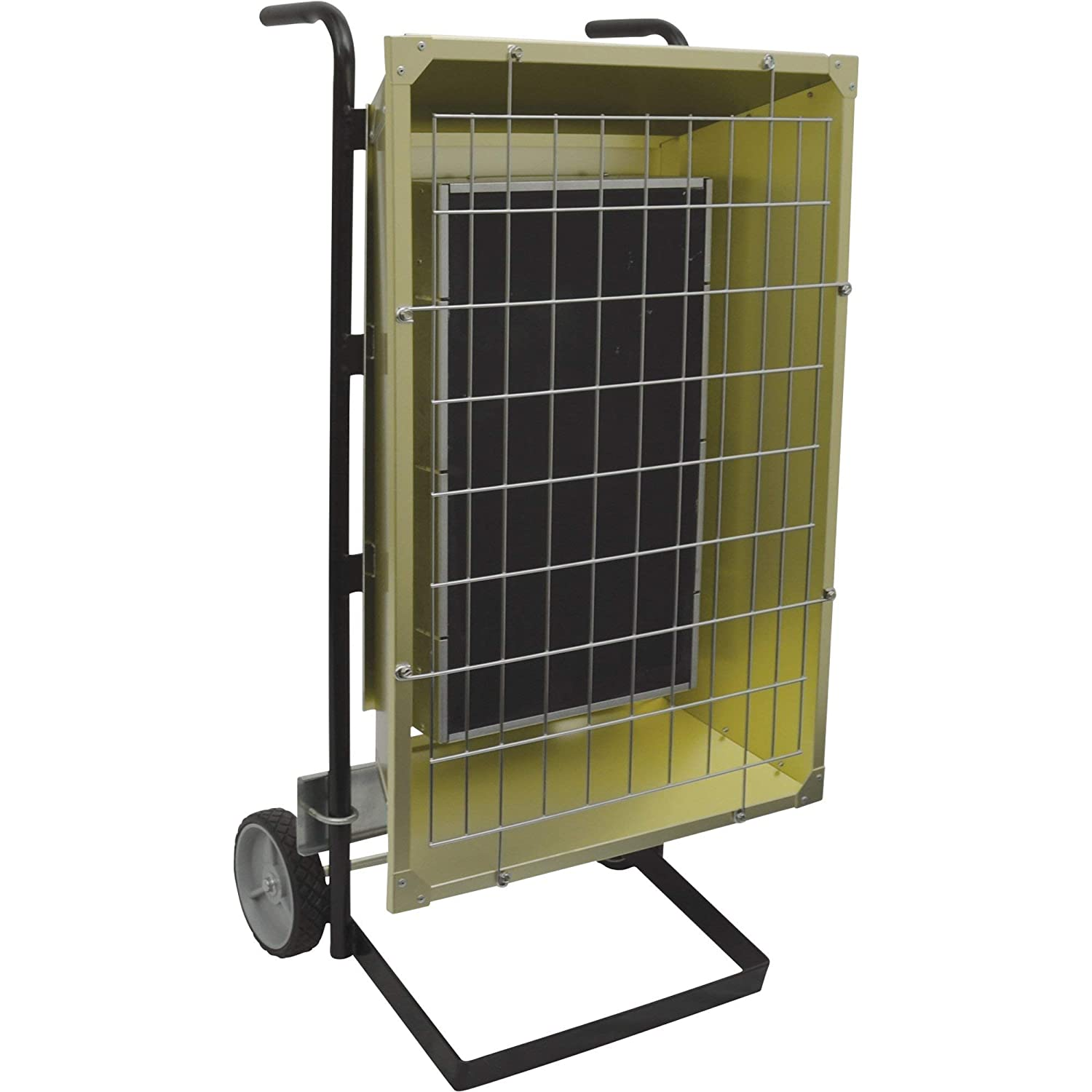TPI Corporation FHK6483A Portable Electric Infrared Heater, Metal Sheath, Single or Three Phase, 6kW, 480V