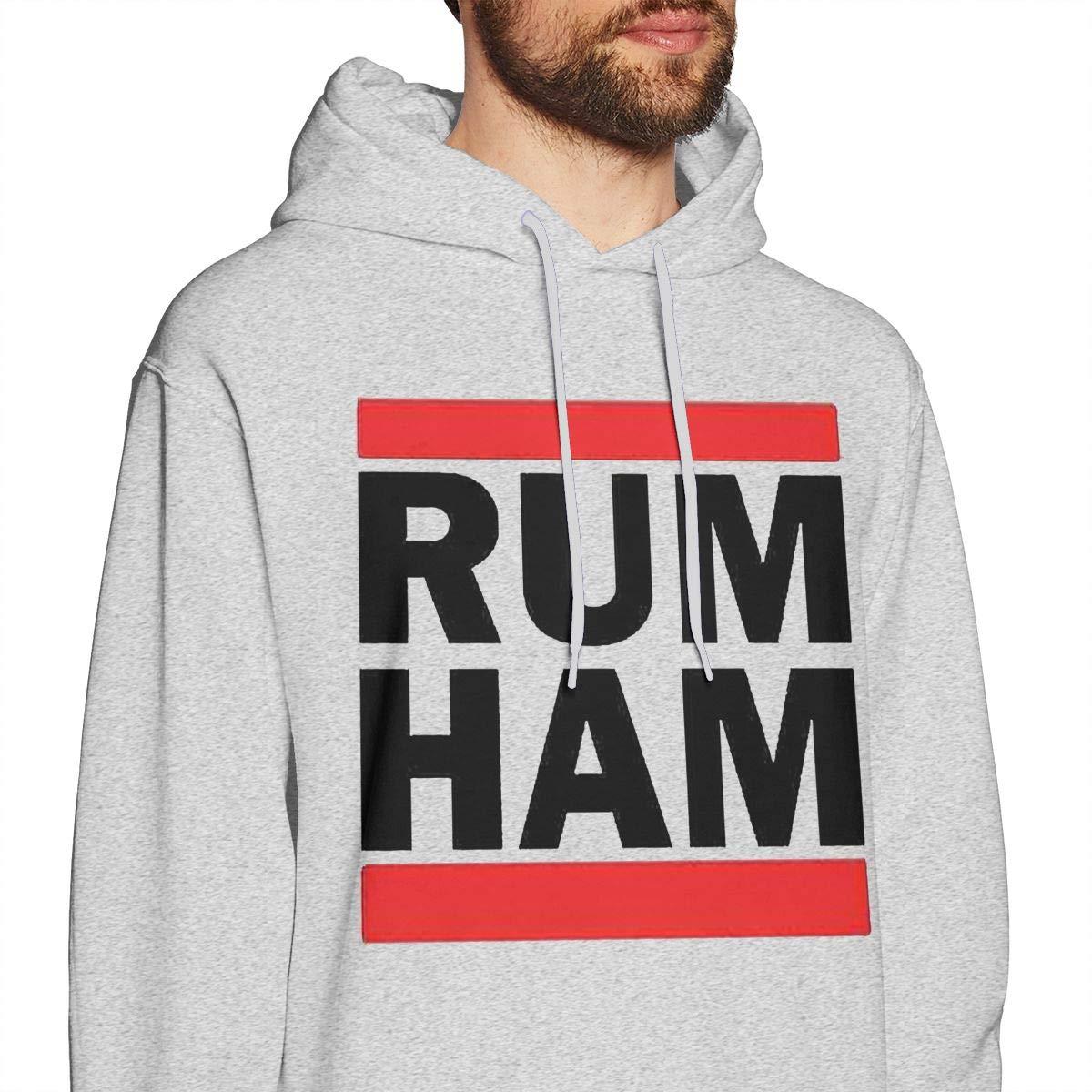 Rum Ham Printed Hoodie