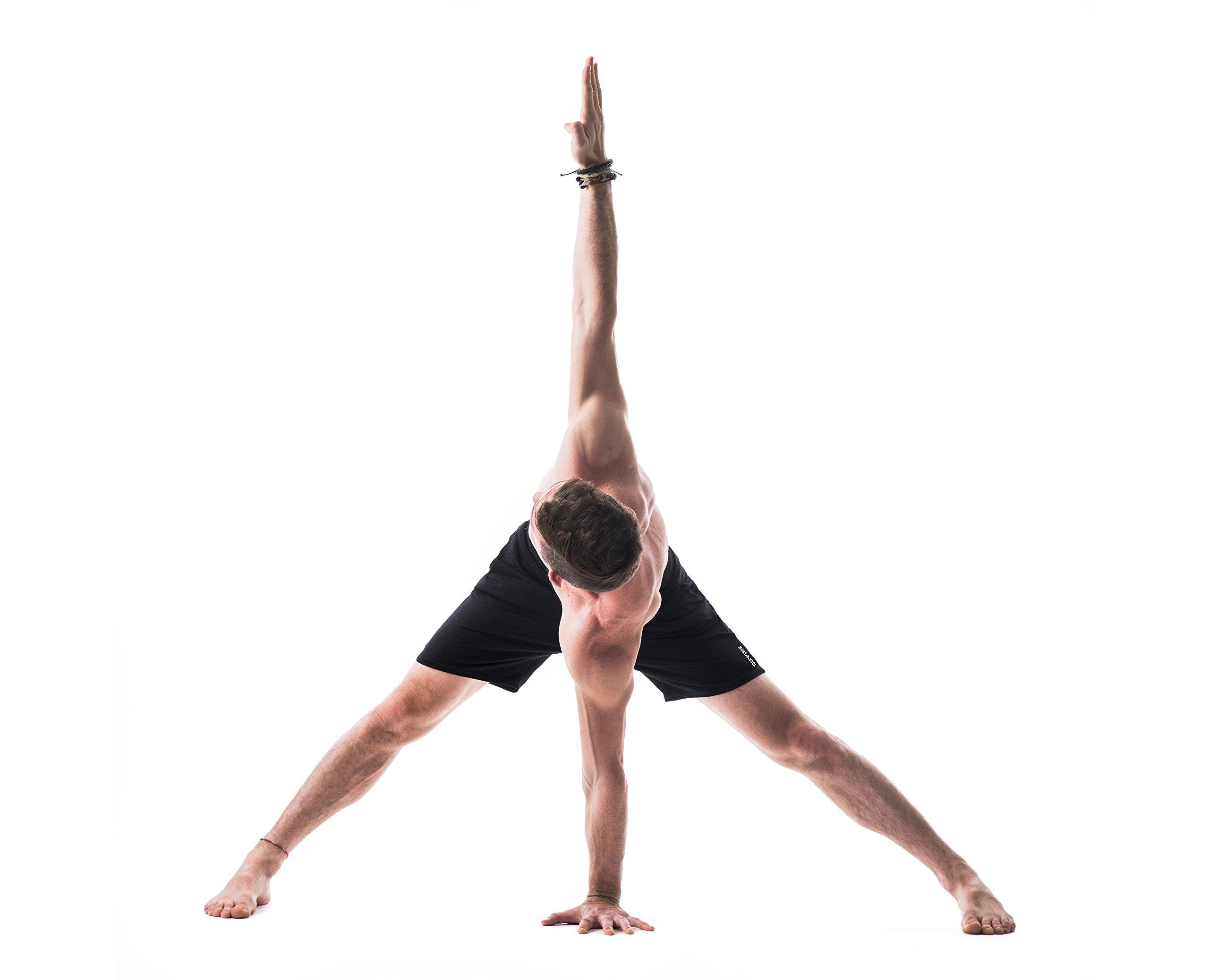 722e3e498e Yoga Crow Mens Swerve Shorts w/Odor-Resistant Inner Liner | Team ...