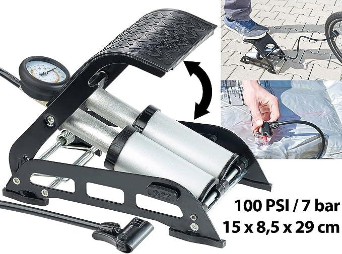 Fahrrad Inflator Luftpumpe Luftzylinderklemme 38cm FranzösischeUS-Düse