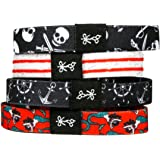 Hair Ties For Guys | Superior, No-Rip, No-Slip Hair Ties for All Hair Types (The Jolly Rogers)