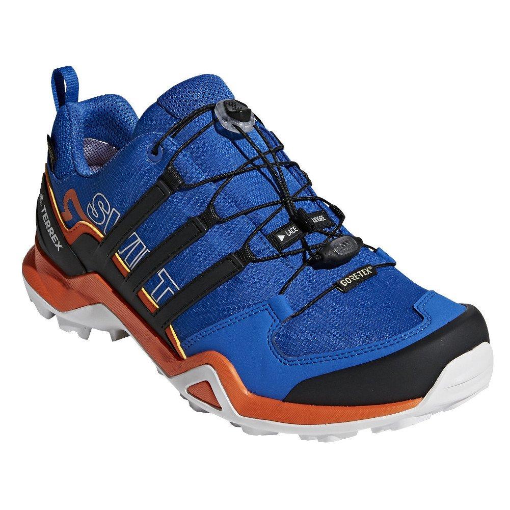 adidas outdoor Men's Terrex Swift R2 GTX¿ Raw Steel/Black/Orange 6 D US