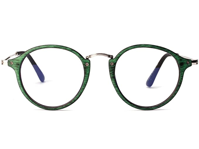 Amazon.com: Allt Vintage Round Optical Eyewear Frame Eyeglasses with ...
