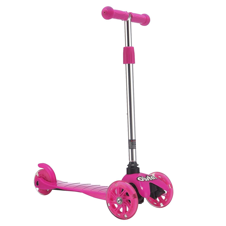 Amazon.com: Obstal Kick Scooter para niños – doble y tres ...