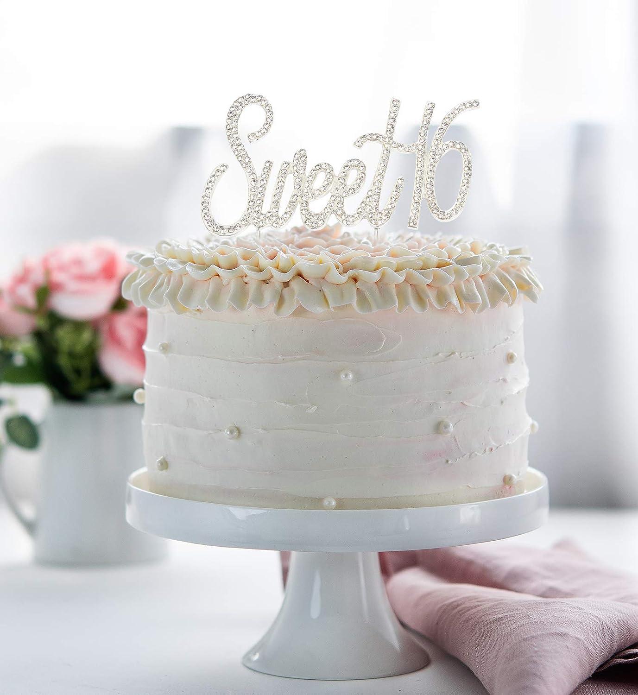 Hatcher Lee Bling Crystal 13 Birthday Cake Topper