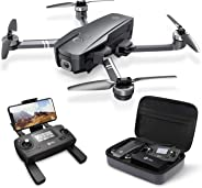 Holy Stone HS720 Foldable GPS Drone with 2K FHD Camera for Adults, Quadcopter with Brushless Motor, Auto Return Home, Follow