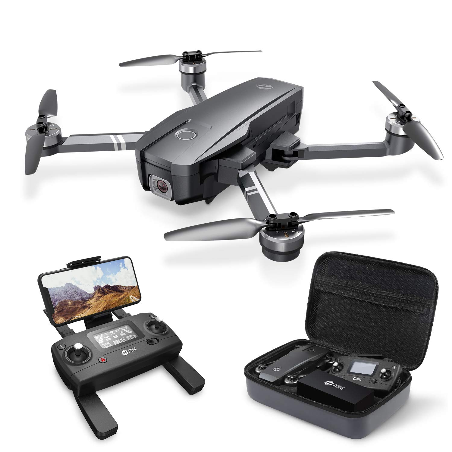 holy-stone-hs720-foldable-gps-drone-with-2k-fhd-camera-for-adults-quadcopter-with-brushless-motor-auto-return-home-follow-me-26-minutes-flight-time-long-control-range-includes-carrying