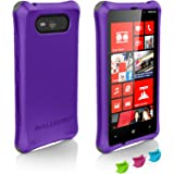 Ballistic LS0922-M905 LS TPU Case for Nokia Lumia 820 - 1 Pack - Retail Packaging - Purple