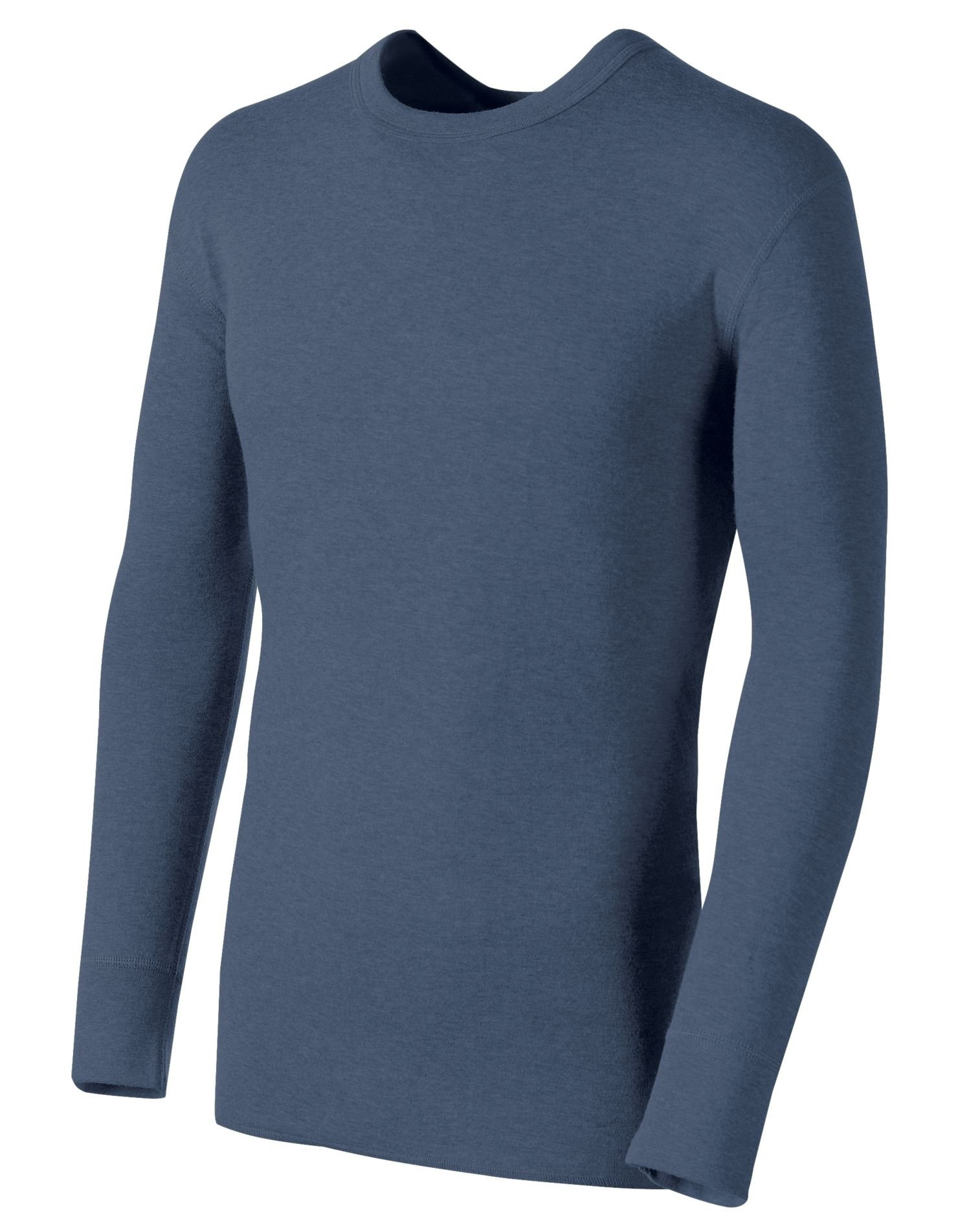 Duofold Men's Mid Weight Double Layer Thermal Shirt, Blue Jean, XX-Large