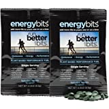 ENERGYbits Purest Spirulina Algae Tablets Organically Grown, Non-GMO, vegan, paleo, ketogenic, raw. One ingredient- 100% pure green Spirulina Plantensis, 2 Single Servings