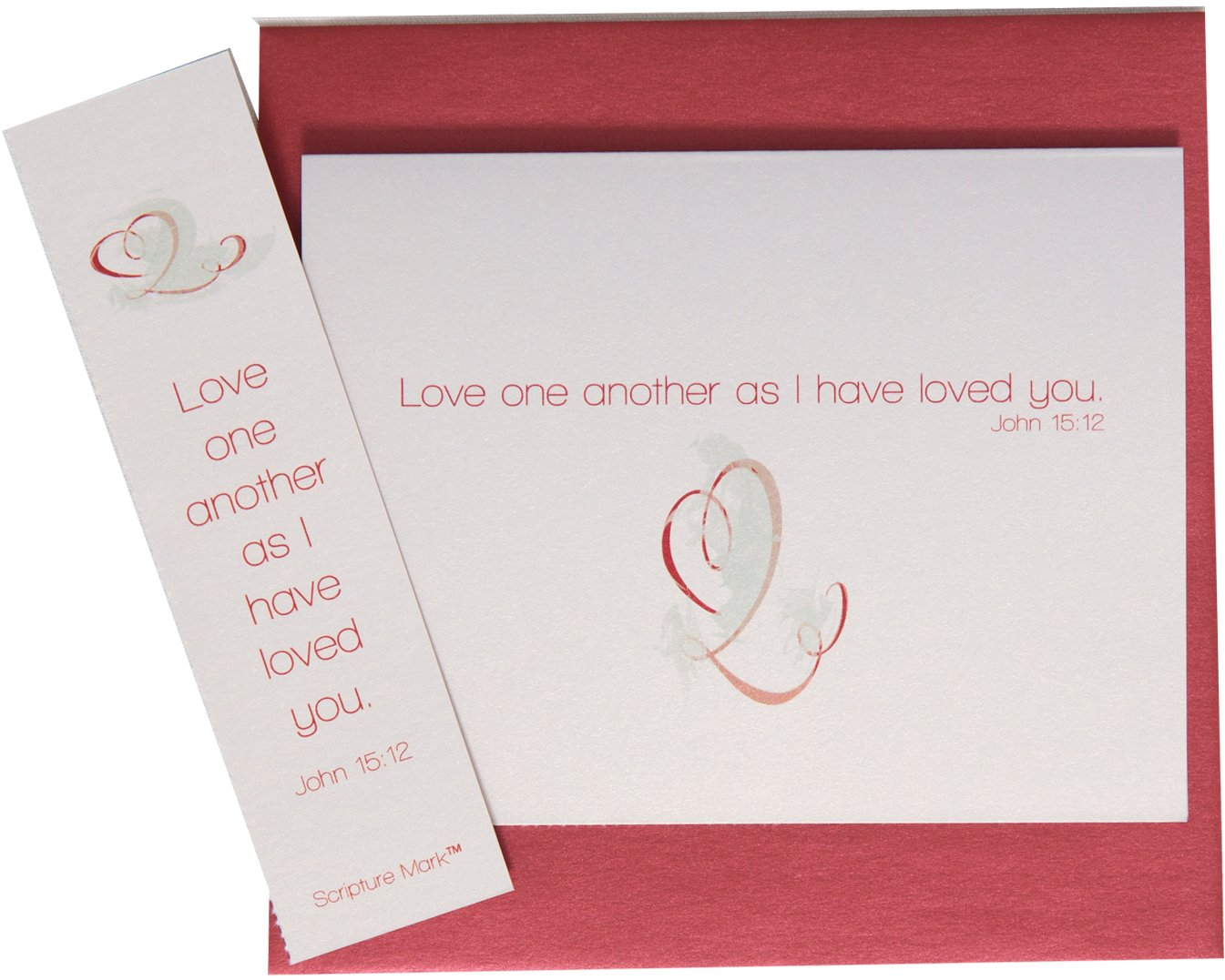 He Speaks Today Love One Another Note Card Set