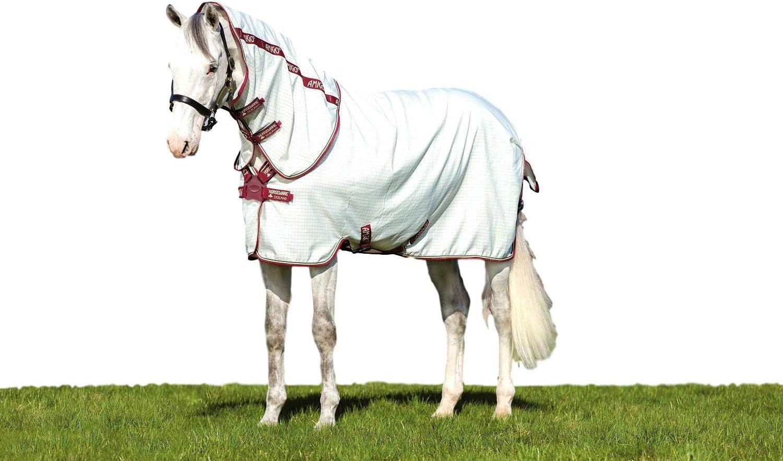 Amigo Horseware Aussie Allrounder Rug White//Green Check//Cream//Burgundy