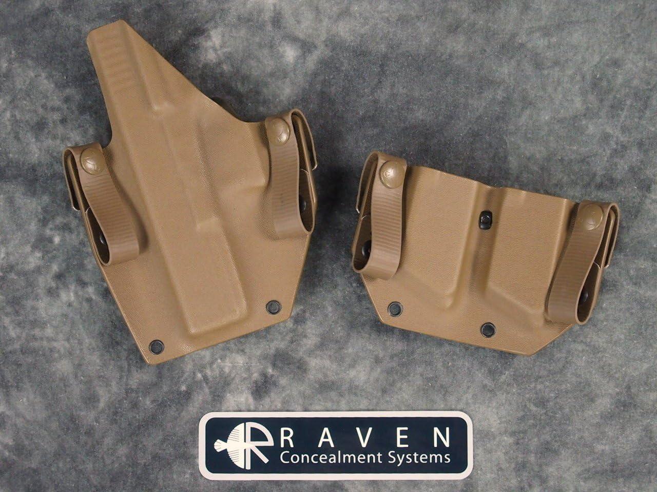 "Raven Concealment Systems Ken Hackathorn Signature Holster for 1911 5/"" No Rail"
