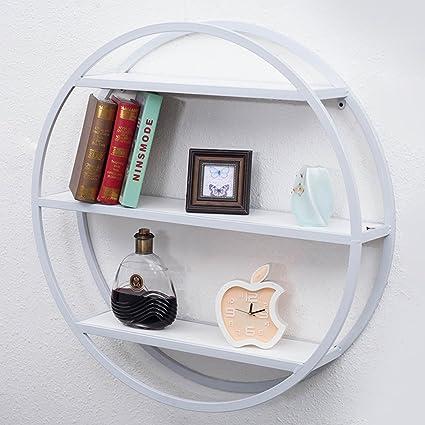 Amazon QIANDA Wall Shelves Storage Display Floating Shelf