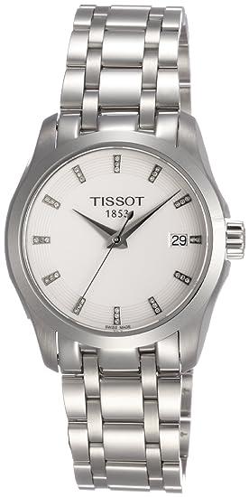 Tissot T0352101101600 T035.210.11.016.00 - Reloj para mujeres, correa de acero inoxidable