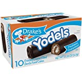"""Drake's Cakes Yodels, 10 cakes, 11.16 oz (pack of 2)"""" [ total 20 cakes, 22.32 oz]"""