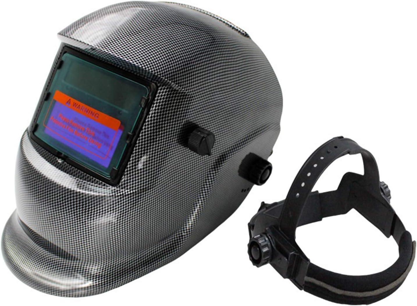 FairytaleMM Solar Automático Variable Soldadura fotoeléctrica Máscara Máscara Soldador Soldadura Argón Protección Laboral Protección Rejilla Pantalla (Rejilla)