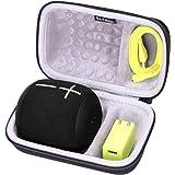 LTGEM EVA Hard Case for Ultimate Ears WONDERBOOM/WONDERBOOM 2 Portable Waterproof Bluetooth Speaker - Fits USB Cable and Char