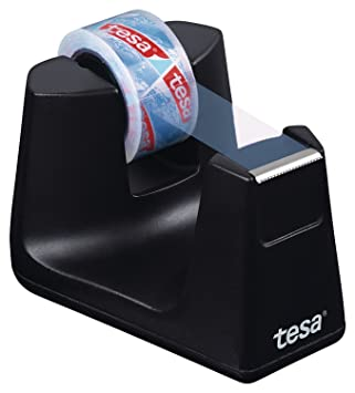 Tesa Easy Cut Dispensador Smart EcoLogo con Stop Pad, Incluye 1 Rollo Tesafilm: Amazon.es: Hogar