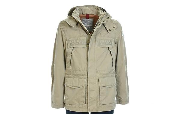 NAPAPIJRI chaqueta de hombre con capucha N0YG4UN96 SKIDOO ABIERTA L SS COT