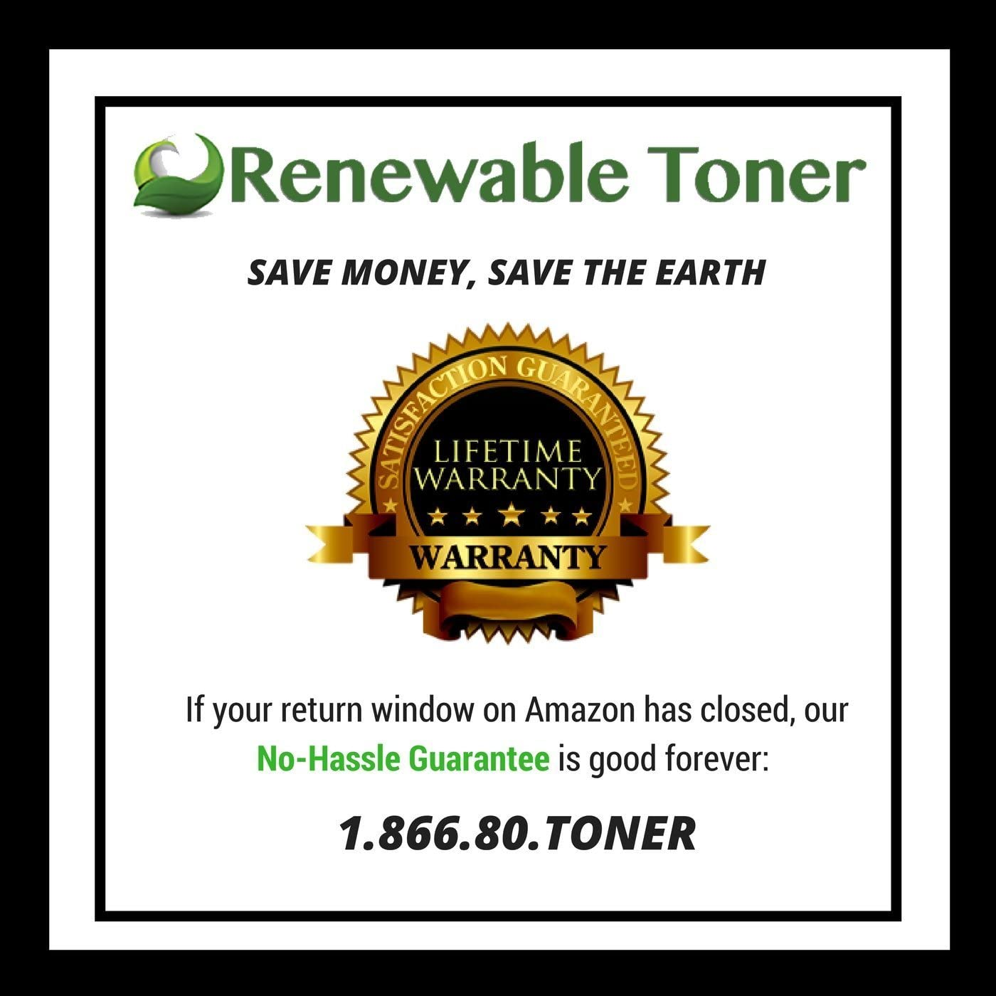 Renewable Toner Compatible MICR Toner Cartridge Replacement for HP 55A CE255A for HP Laserjet Enterprise P3010 P3015 P3016 Printers 2-Pack