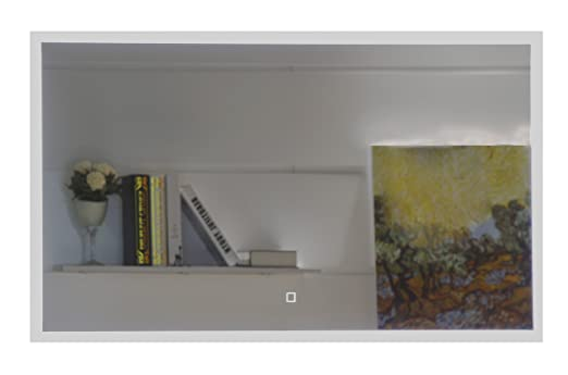 Badspiegel Mit Led Beleuchtung Gs042 Durch Satinierte Lichtflachen