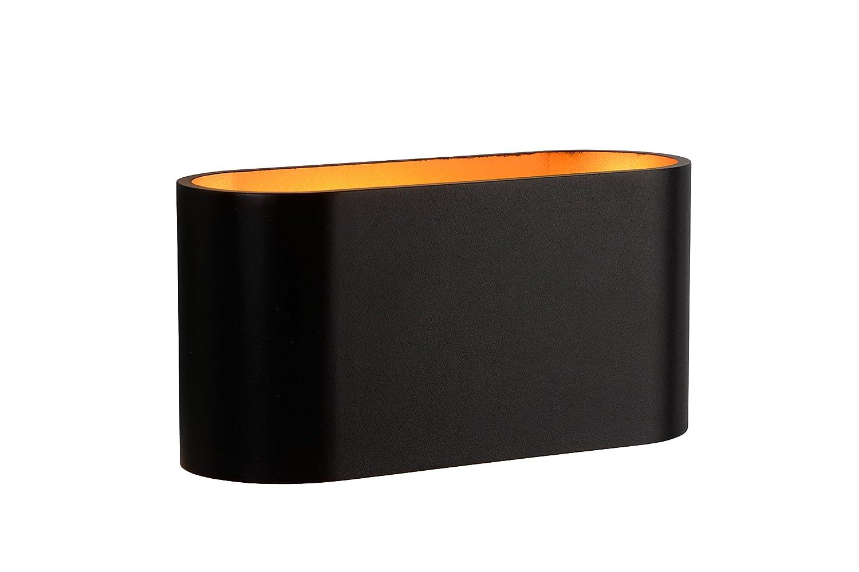 Lucide Xera - Wandleuchte - G9 Aluminium 42 W, schwarz 16 x 8 x 8 cm