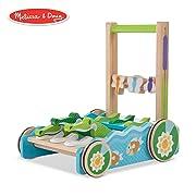"Melissa & Doug First Play Chomp & Clack Alligator Push Toy (Developmental Toy, 15"" H X 15"" W X 11.75"" L) (Colors may vary)"