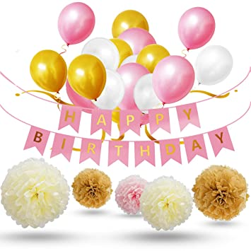 Geburtstagsdeko Fur Madche Deko Geburtstag Party Dekoration Set 30x