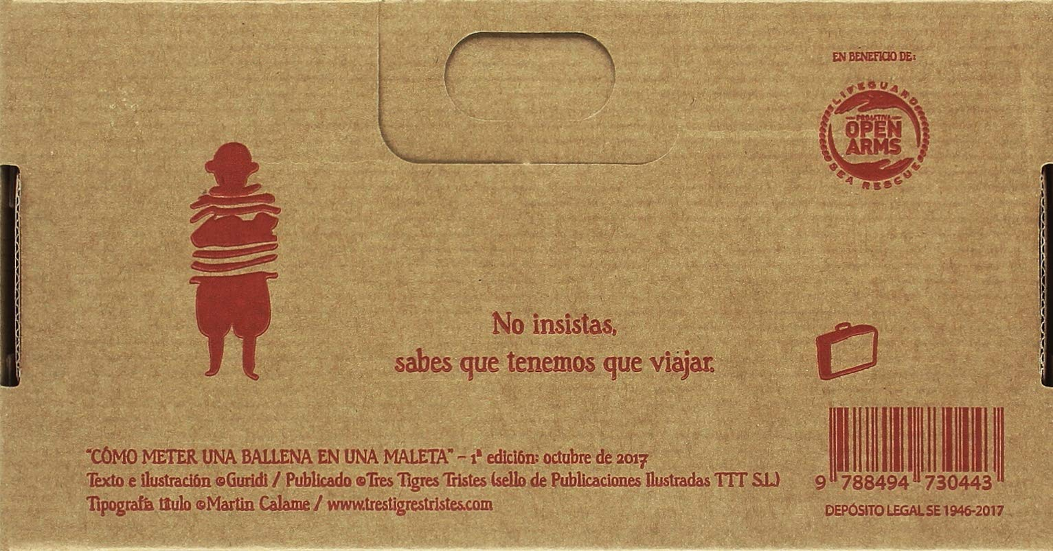 Cómo meter una ballena en una maleta: Raúl Nieto Guridi: 9788494730443: Amazon.com: Books