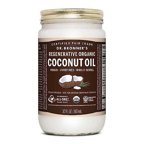Regeneracyjny organiczny olej kokosowy Dr. Bronnera