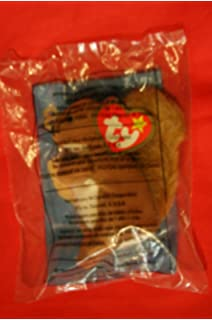 1999 McDonalds Happy Meal Toy Ty Teenie Beanie Babies #8 Nuts the Squirrel Plush by