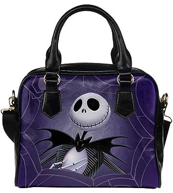 aa52d02617 Fashionable Ladies Girl Shell Shoulder Handbag Top-Handle Bags Handbag with  Jack The Nigntmare Before