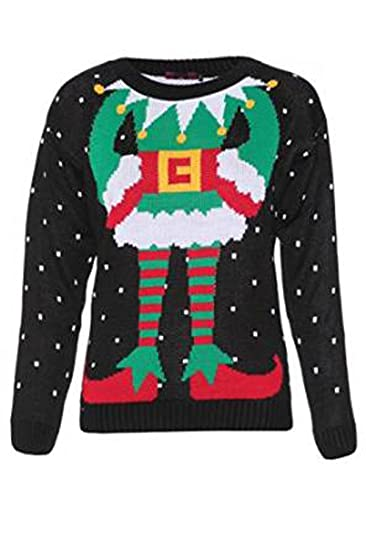 ladies christmas jumper size 6
