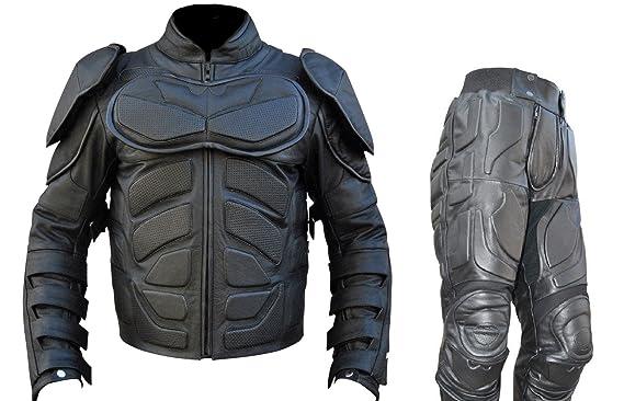 Bestzo Traje de Caballero Oscuro de Piel Batman para Hombre ...
