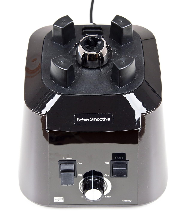 2,5 L, Giratorio, 32000 RPM, Batidora de vaso, Negro, Transparente, Blanco, 1680 W Transparente Licuadora G21 PS1680NGW Batidora de vaso 2.5L 1680W Negro Color blanco