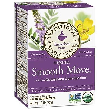 Traditional Medicinals Move Laxative Tea